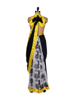 Fan Print Saree - ROOP KASHISH