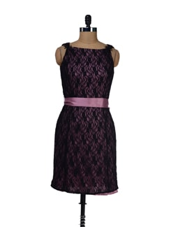 Floral Lace Dress - LY2