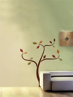 Contemporary Tree Wall Sticker - Home Decor Line