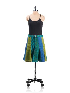 Panelled Skirt - Desiweaves