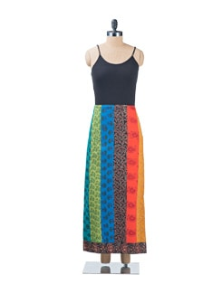 Panelled Skirt - Desiweaves 2681