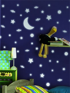 Stars In The Night Wall Sticker - Home Decor Line