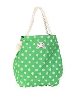 Green Dobby Bag - Be For Bag