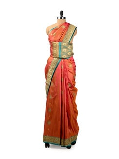 Benarasi Handloom Silk Saree - Seasons By Surekha