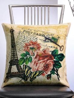 Post Card Print Cushion Cover - Veva's