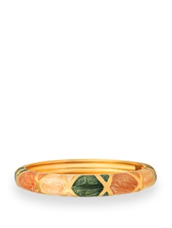 Gold Plated Trendy Bracelet - Jewellery By Just Women