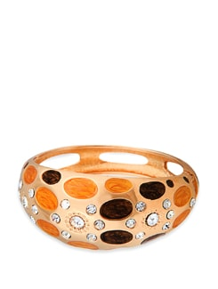 Hypnotic Gold Plated Bracelet - Jewellery By Just Women