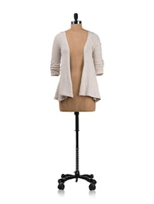 Vanilla Draped Cardigan - Allen Solly