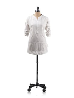 White Tunic Shirt - Allen Solly