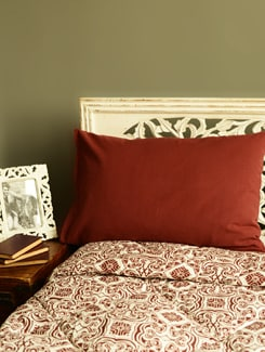 Brown Set Of 2 Pillow Covers - HOUSE THIS
