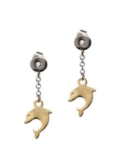 Dolphin Earrings - Vendee Fashion