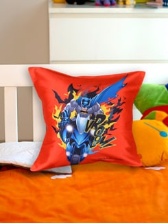 Quirky Batman Cushion Cover - Warner Brothers By Mesleep