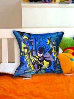 Uber Cool Batman Cushion Cover - Warner Brothers By Mesleep