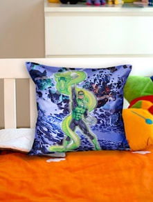 Superhero Green Lantern Cushion Cover