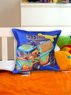 Mystery Machine Scooby Doo Cushion Cover - Warner Brothers By Mesleep