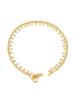 Sparkling Golden Anklets - Lely Jewellery