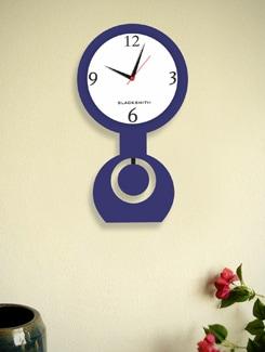 Elegant Dark Blue Clock - BLACKSMITH