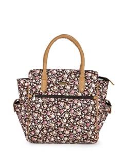 Floral Print Bag - YELLOE