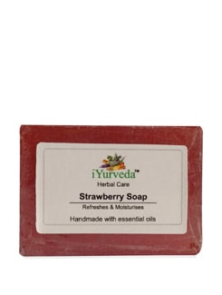 Fragrant Strawberry Soap - iYurveda