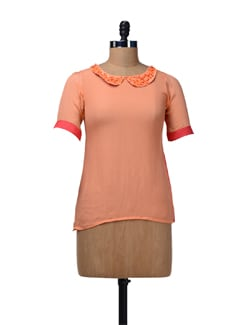 Vibrant Two-Tone Top - Nangalia Ruchira