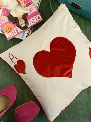 Ace of Hearts Cushion Cover