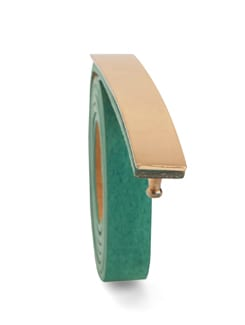 Sea Green Suede Belt - Nineteen