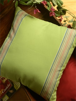 Simple Cushion Cover In Light Green - Ambbi Collections