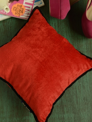 Deep Red Cushion Cover