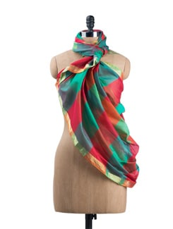 Colour Rush Dupatta - SONJATO SEN