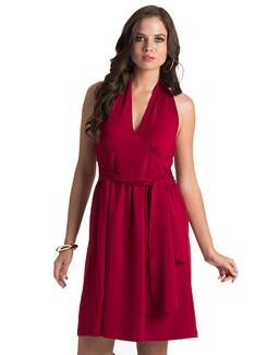 Scarlet Date Halter Dress - PrettySecrets