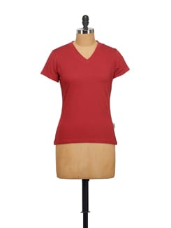 Classic Red T-shirt - STYLE QUOTIENT BY NOI