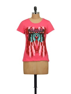 Warli Art Print T-shirt - STYLE QUOTIENT BY NOI
