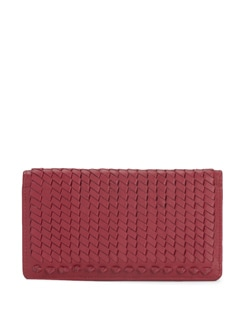 Rose Red Textured Wallet - Eske