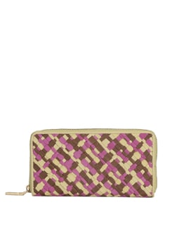Tri Coloured Textured Wallet - Eske
