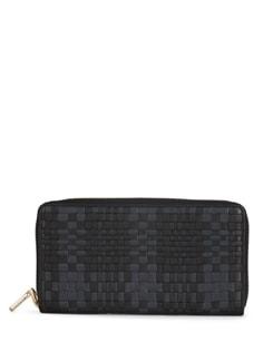 Wallet In Black And Grey - Eske