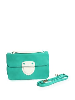 Fiesty Green Shoulder Bag - Addons