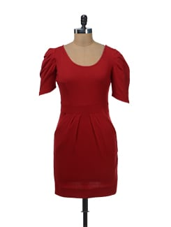 Structured Bodycon Dress - Femella
