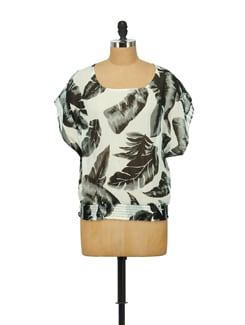 Enchanting Printed Top - House Of Tantrums