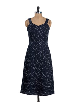 Star Print Lined Dress - Thegudlook