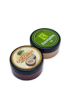 Coconut & Eucalyptus Balm (Set of 2) - Last Forest