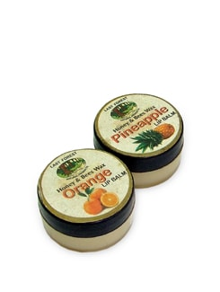 Orange & Pineapple Lip Balm (Set Of 2) - Last Forest