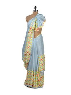 Elegant Twill Silk Saree - URBAN PARI