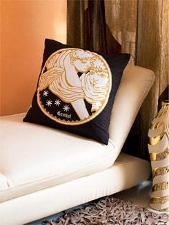 Gemini Cushion Cover - HOUSE THIS