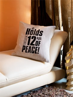 12 Kgs Of Peace Cushion Cover - HOUSE THIS