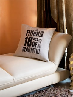 18kgs Of Warmth Cushion Cover - HOUSE THIS