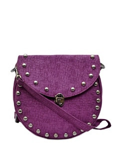 Chic Purple Sling Bag - Murcia