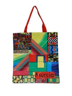 Multicolored Geometric Print Bag - Murcia