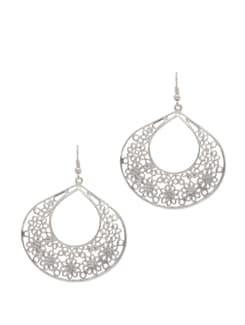 Intricate Silver Earrings - YOUSHINE