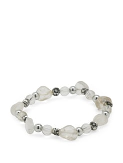 Crystal Power Bracelet - Ivory Tag