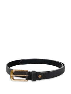 Chic Dark Grey Belt - Lino Perros